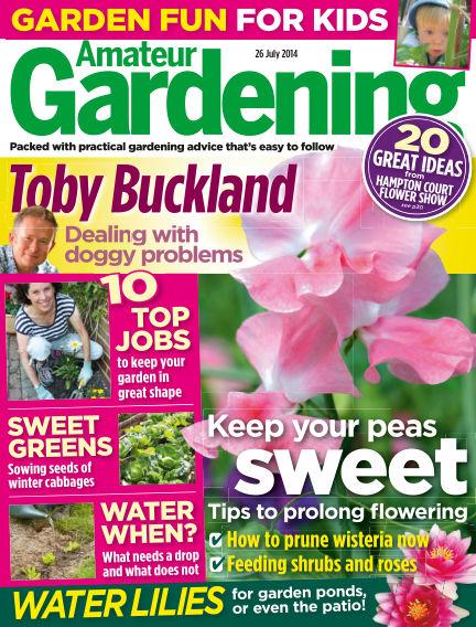 Amateur Gardening July 29, 2014 00:00