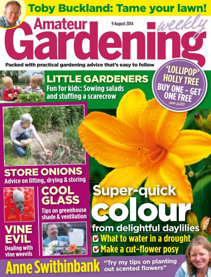 Amateur Gardening August 12, 2014 00:00