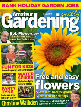 Amateur Gardening 23rd August 2014