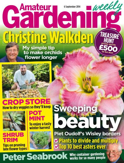 Amateur Gardening September 09, 2014 00:00