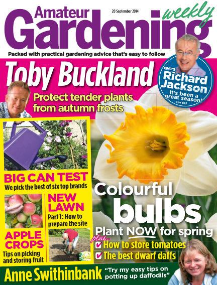 Amateur Gardening September 23, 2014 00:00