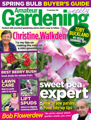 Amateur Gardening 20th September 2014