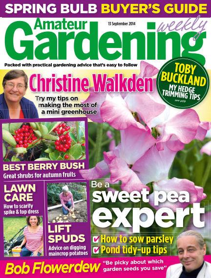 Amateur Gardening September 16, 2014 00:00