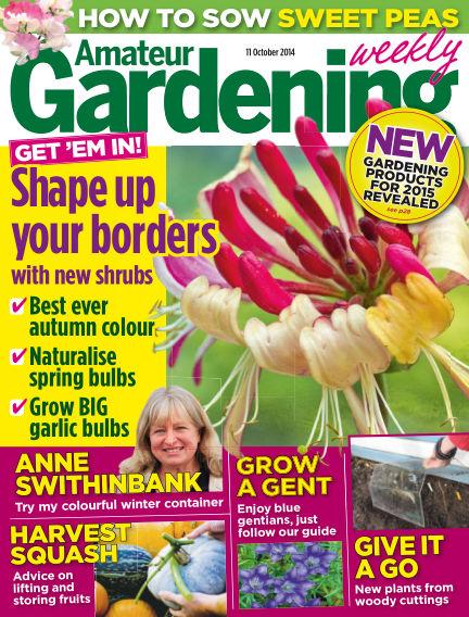 Amateur Gardening October 14, 2014 00:00