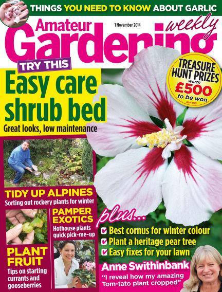 Amateur Gardening November 04, 2014 00:00