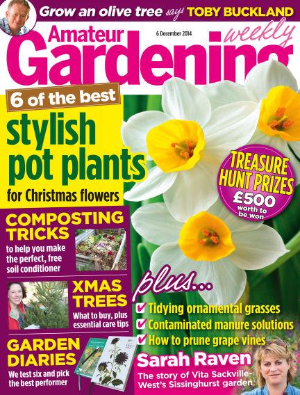 Amateur Gardening December 09, 2014 00:00