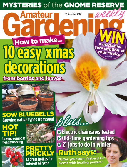 Amateur Gardening December 16, 2014 00:00