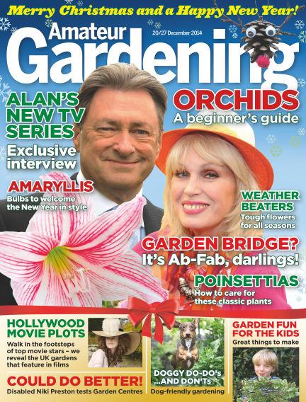 Amateur Gardening December 30, 2014 00:00