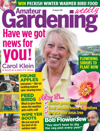 Amateur Gardening 10th January 2015