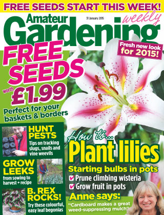 Amateur Gardening 31st January 2015