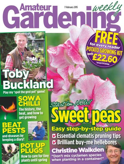 Amateur Gardening February 10, 2015 00:00