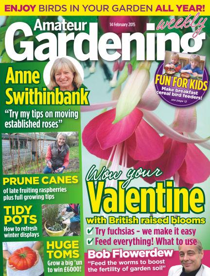 Amateur Gardening February 17, 2015 00:00