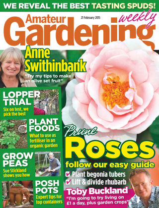 Amateur Gardening 21st February 2015