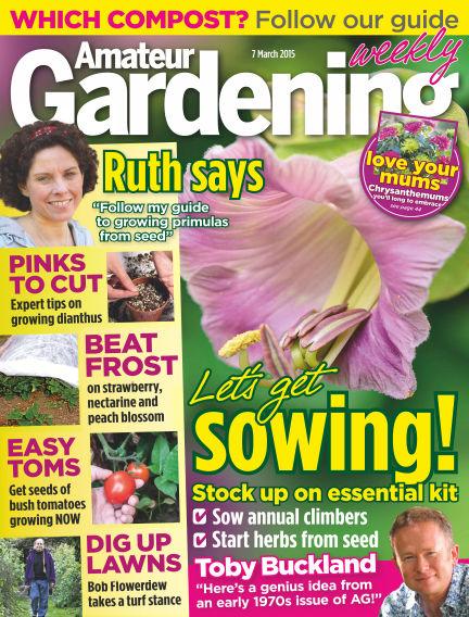 Amateur Gardening March 10, 2015 00:00