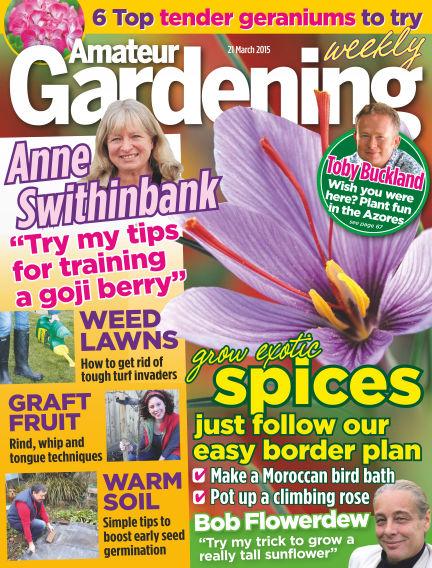 Amateur Gardening March 24, 2015 00:00