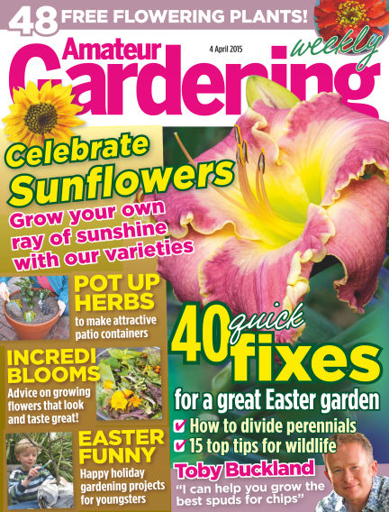 Amateur Gardening April 07, 2015 00:00