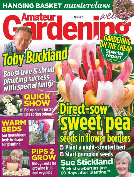 Amateur Gardening April 14, 2015 00:00