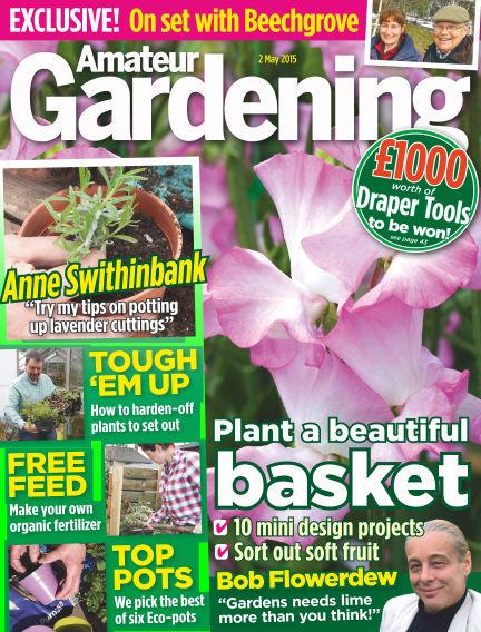 Amateur Gardening May 05, 2015 00:00