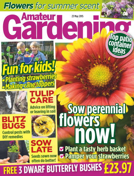 Amateur Gardening May 26, 2015 00:00