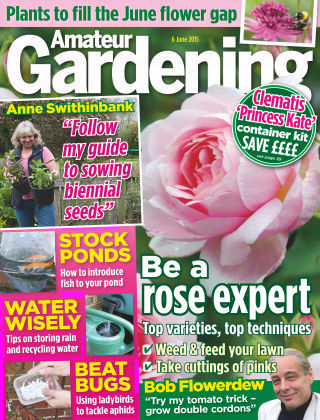 Amateur Gardening 6th June 2015
