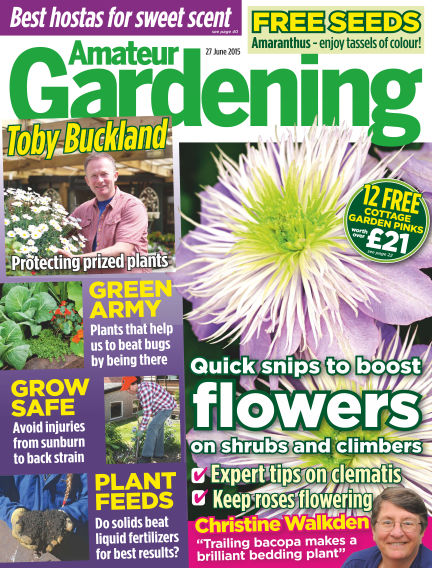 Amateur Gardening June 30, 2015 00:00