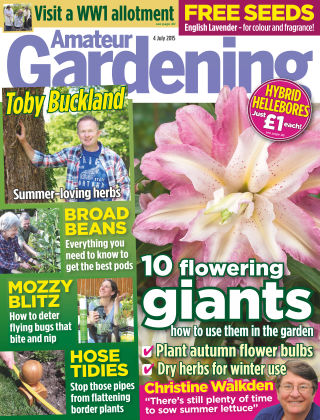 Amateur Gardening 4th July 2015
