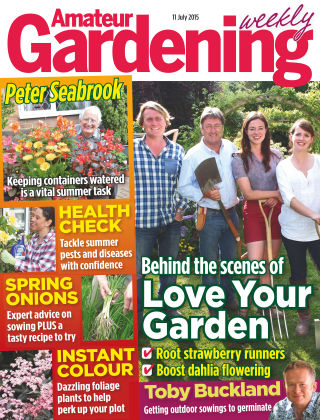 Amateur Gardening 11th July 2015