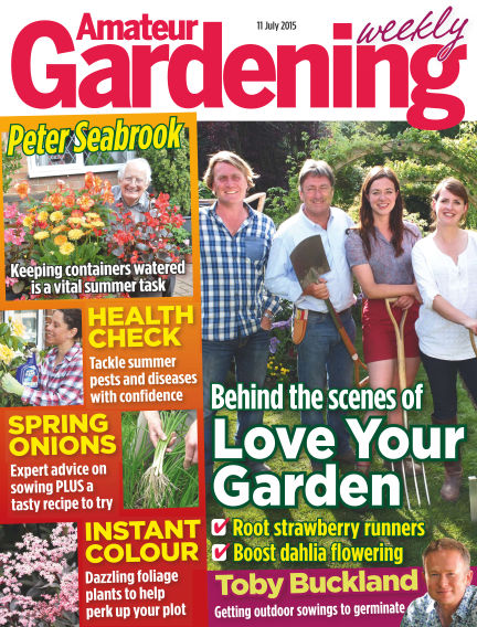 Amateur Gardening July 14, 2015 00:00