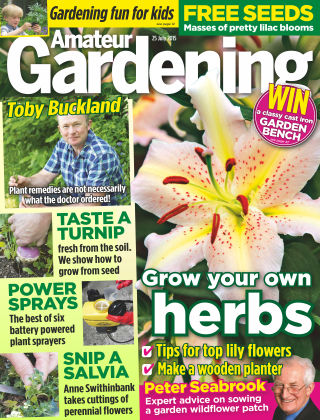 Amateur Gardening 25th July 2015