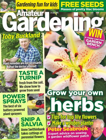 Amateur Gardening July 28, 2015 00:00