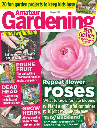 Amateur Gardening 1st August 2015