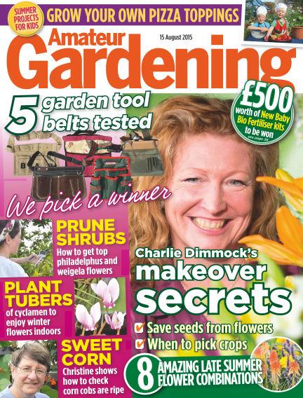 Amateur Gardening August 18, 2015 00:00