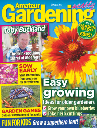 Amateur Gardening 22nd August 2015