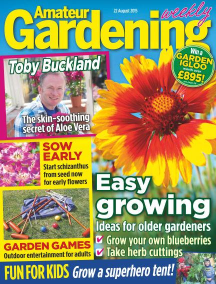 Amateur Gardening August 25, 2015 00:00
