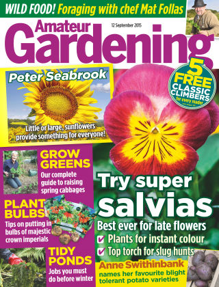 Amateur Gardening 12th September 2015