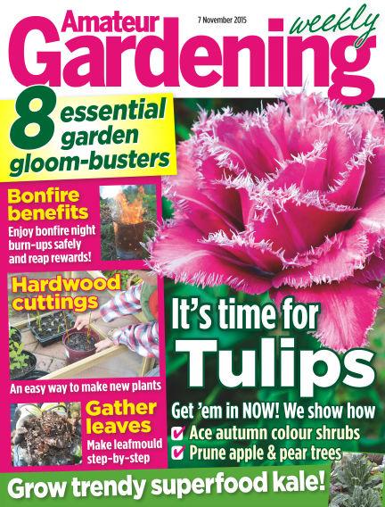 Amateur Gardening November 10, 2015 00:00