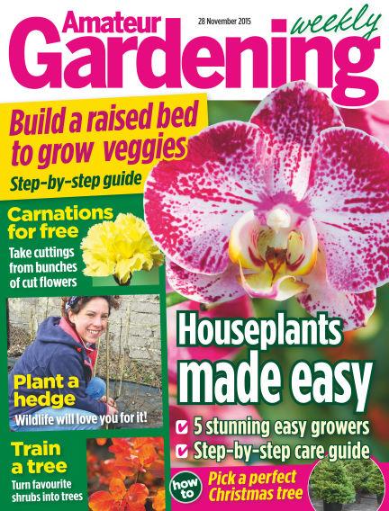 Amateur Gardening December 01, 2015 00:00
