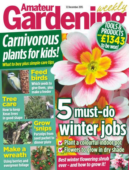Amateur Gardening December 15, 2015 00:00