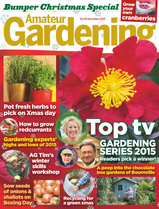 Amateur Gardening 19th December 2015
