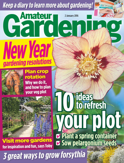 Amateur Gardening January 05, 2016 00:00
