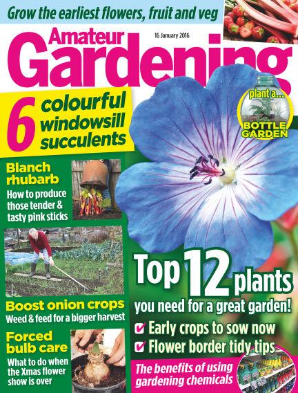 Amateur Gardening January 19, 2016 00:00