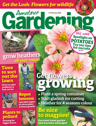 Amateur Gardening 27th February 2016