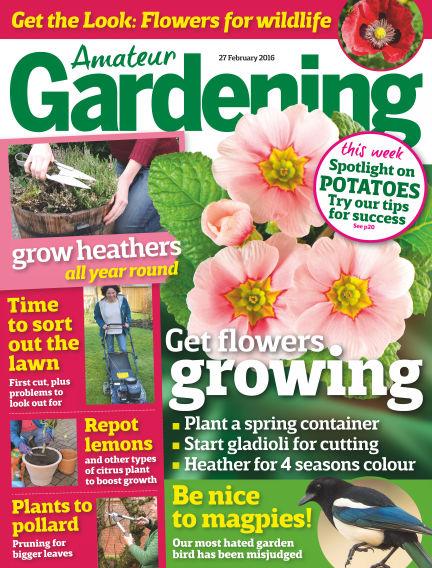 Amateur Gardening March 01, 2016 00:00