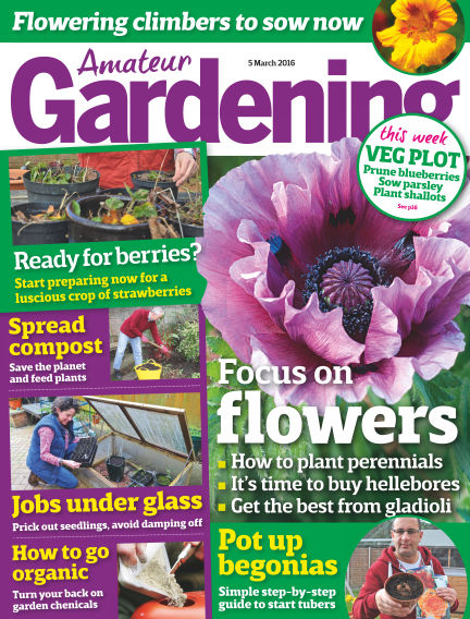 Amateur Gardening March 08, 2016 00:00