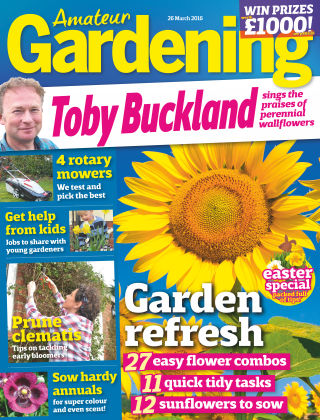 Amateur Gardening 26th March 2016