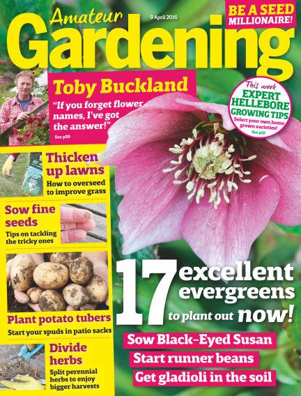 Amateur Gardening April 06, 2016 00:00