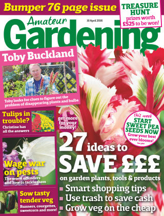 Amateur Gardening 16th April 2016