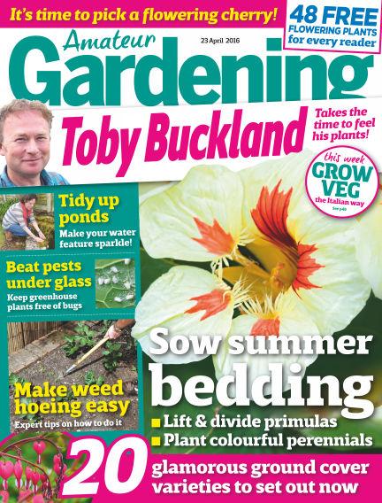 Amateur Gardening April 19, 2016 00:00