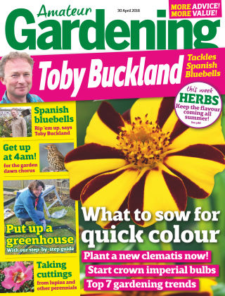 Amateur Gardening 30th April 2016