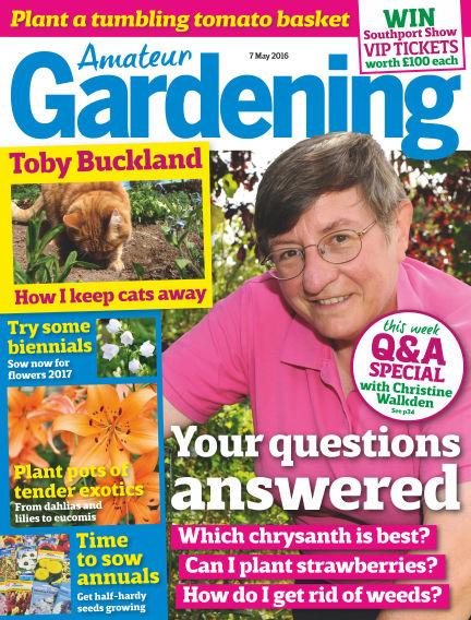 Amateur Gardening May 03, 2016 00:00